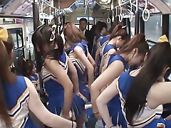 Crazy Japanese Kinky Cheerleader