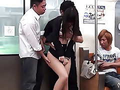 Train Japanese Gangbang Cumshot Cum Asian