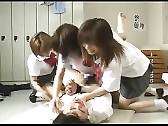 Classroom College Gangbang Group Sex Japanese Schoolgirl