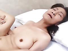 Japanese mature facials