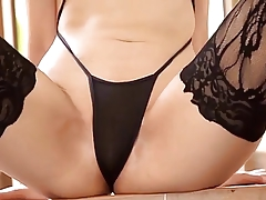 Tease Stockings Japanese Bikini Asian