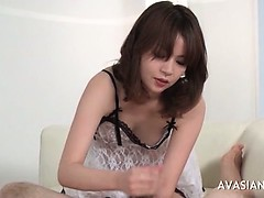 Teen Handjob Cute Cum Asian