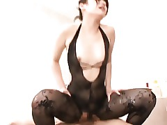 Stockings Pantyhose Massage Japanese Ass