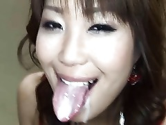 Japanese Deepthroat Cute Cum Throat
