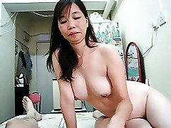 Asian Sucking Dick Deepthroat Chinese Blowjob