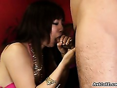 Amateur Asian Blowjob Cum Gorgeous Japanese Throat
