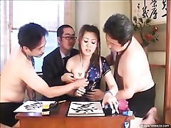 Deepthroat Cumshot Cum Blowjob Babe Asian Uniform Throat Tattoo