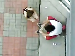 Asian Singapore Outdoor Couple