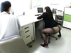 Chick Crazy Japanese Kinky Office Wild
