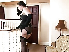 Stockings Spanking Korean Ass