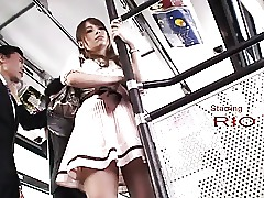 Japanese Lingerie Old and Young Bus Skirt Office