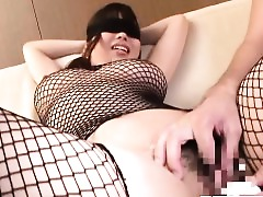 Masturbation Lingerie Japanese Fingering Busty Bus Brunette Boobs Big Tits