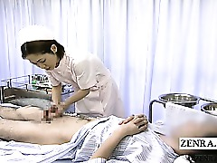 Cumshot Doctor Asian Fetish Handjob Japanese Nurses Slave Uniform