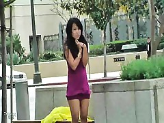 Asian Ass Gorgeous Masturbation Outdoor Public Tease