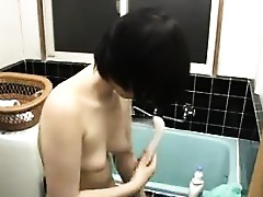 Cute Chick Japanese Shower Asian Solo
